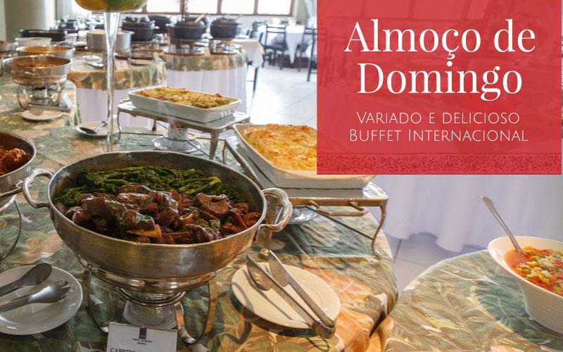 Almoço de domingo - Restaurante Porta Romana Curitiba