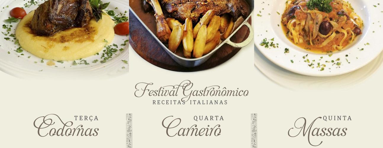 Festival Gastronômico - Trattoria Porta Romana